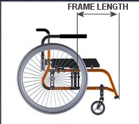 Wheelchair Frame Length