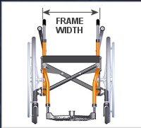 Wheelchair Frame Width