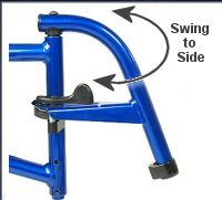 Typical Swing Away Footrest
