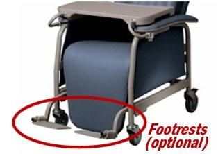 Preferred Care Geri Chair Recliner Lumex 565g Clinical