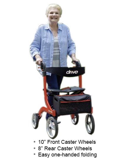 Using the Nitro Rollator