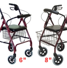 Rollator Wheel Size