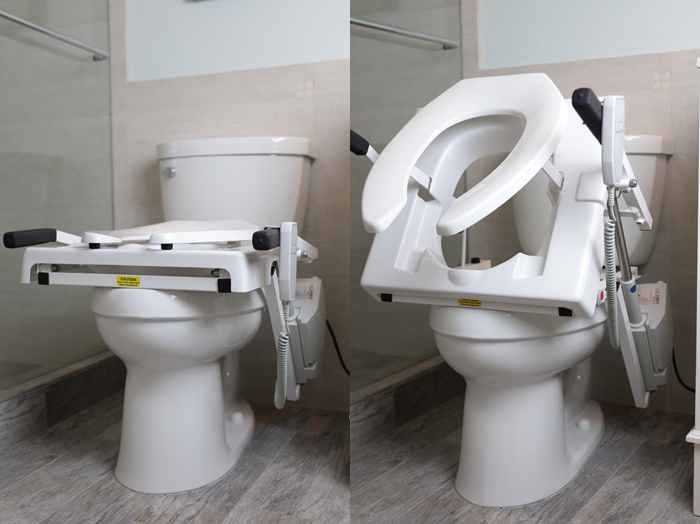 Power Commode Seat Lift
