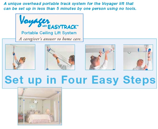 Voyager Overhead Ceiling Lift System
