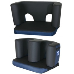 Comfort Company Complete Feet For Wheelchair Padded Legrest