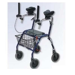 Dolomite Alpha Rollator Rollator With Forearm Supports Arm Supports