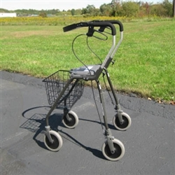 Futura Extra Tall Four Wheel Walker Tall Rollator