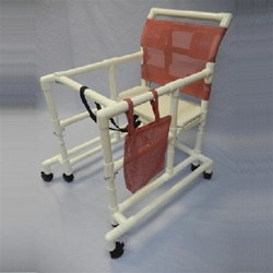 Pvc Over Sized Adult Walker Bariatric Pvc Walker Gait