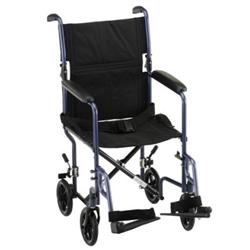 Nova Transport Wheelchair Model 319 Folding Transport Chair