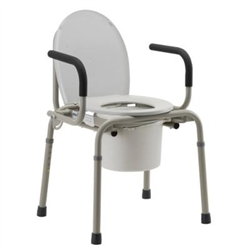 Nova Drop Arm Commode Model 8900w Bedside 3 In 1 Commode