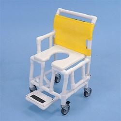 Pvc Shower Commode Chair With Soft Seat Pvc Medical Products