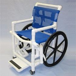 Pvc 18 Quot Self Propel Shower Wheelchair Healthline Swc