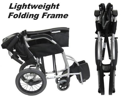 Lightweight Folding Frame