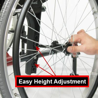 Ergo 305 Adjustable Axles