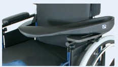 Molded Armrest for Wheelchair