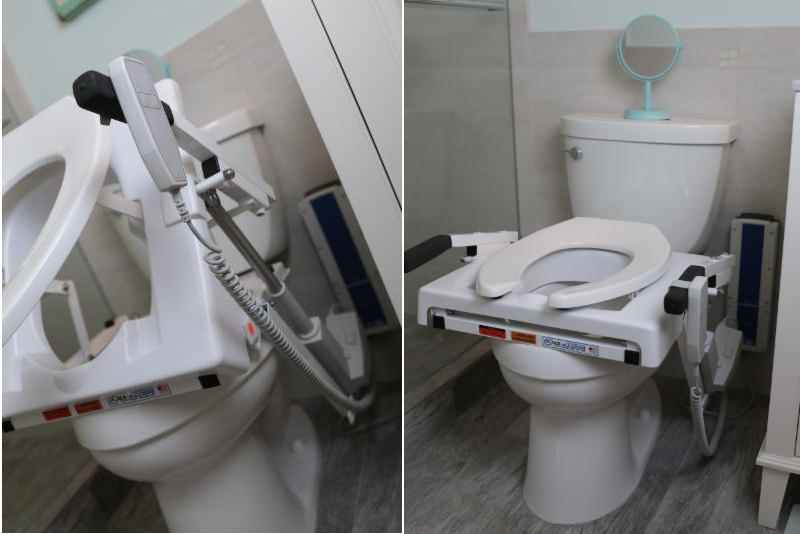 Battery Powered Toilet Seat Lift
