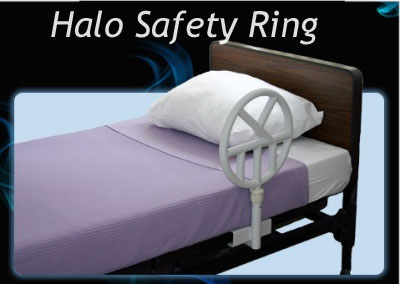 Halo Safety Ring | Halo Bed Rails | Adjustable Hospital Bed Assist