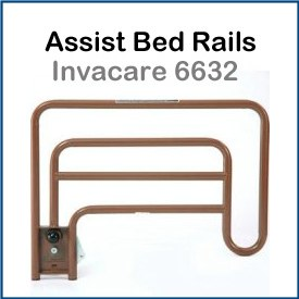 Invacare 6632 Bed Rails