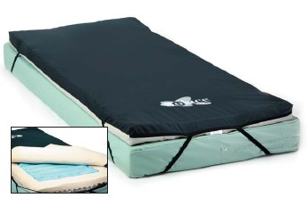 Invacare IVCGFMO2 Gel Mattress Overlay for Hospital Bed   Gel Foam