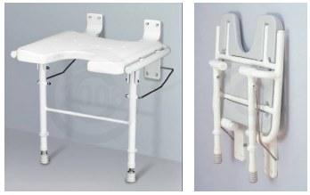 Nova 9404 Shower Seat - Folding Shower Chair