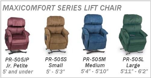 PR505 Models  sc 1 st  Phc-online.com & Golden Technologies PR-505 Maxicomfort Lift Chair Recliner islam-shia.org