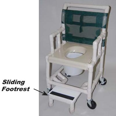 Sliding Footrest Option