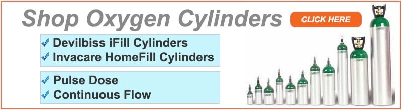 Home Oxygen Cylinder, Tank, Bottles, Supplies and Accessories