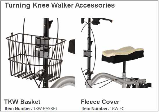 Knee Walker Accessories