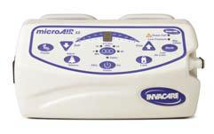 invacare microair ma55 alternating pressure mattress with ondemand low air loss and 10 lpm compressor