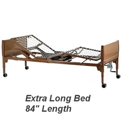 Invacare Extra Long Full Electric Hospital Bed Ivc 5410
