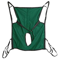 Hoyer Polyster Commode Sling Toileting Sling For Patient