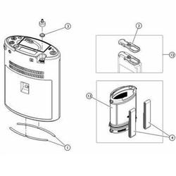 invacare platinum mobile concentrator replacement parts. Black Bedroom Furniture Sets. Home Design Ideas