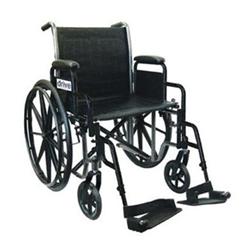 Silver Sport 2 Folding Standard Wheelchair Drive Medical